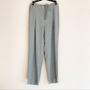 NWOT Massimo Dutti Light Grey Trouser